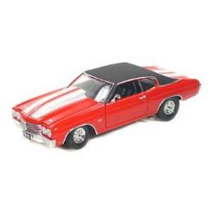 1970 Chevy Chevelle SS 454 Pro Street 1/24 Red Toys