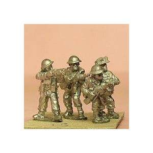 15mm WWII   British Late War Infantry with Mk1 Helmets