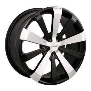 TR2 (3120) (Black w/ Machined Face) Wheels/Rims 5x112/120 (3120 7809M