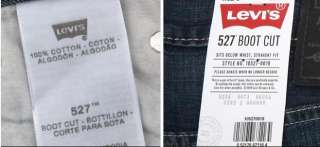 NWT LEVIS 527 0019 LOW BOOT CUT hot blue ORIGINAL BOOT CUT JEANS