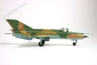 Model airplanes for sale MiG 21 Fishbed Warsaw Pact Pro Built 148