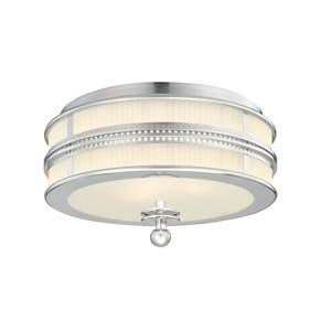 Sonneman 4894.35 Shanghai Polished Nickel Flush Mount