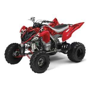 AMR Racing Yamaha Raptor 700 ATV Quad Graphic Kit   Bone