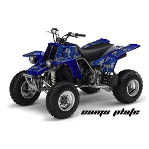 AMR Racing Yamaha Banshee 350 ATV Quad Graphic Kit   Camoplate Blue