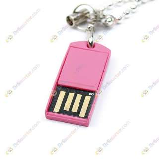 Keychain Small Micro USB Flash Memory Stick Drive 16GB