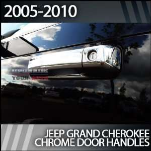 2005 2010 Jeep Grand Cherokee Chrome Door Handles