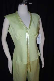 JESSICA HOWARD PETITE LINEN MIX PANT SUIT SZ 10 NWT $80