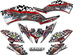 2006 2007 2008 YFZ 450R YFZ450R 450 R YAMAHA GRAPHICS KIT DECO