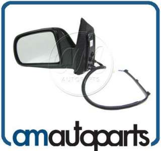 98 03 Toyota Sienna Power Black Door Mirror NEW Left Driver Side