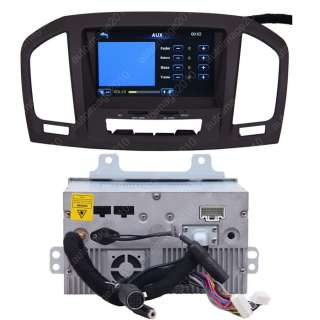 09 11 Opel Insignia Car GPS Navigation Radio TV Bluetooth AUX  IPOD