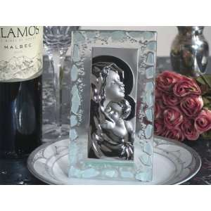 Wedding Favors Murano Art Deco Icon with frosted white