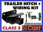 TRAILER HITCH + WIRING 2012 12 JEEP WRANGLER UNLIMITED 116 WB W/ WIRE