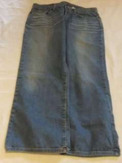 Womens Sz 14 /32 Lucky Brand Lowered Peanut Crop Jeans