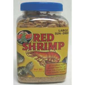 ZOO MED LABORATORIES   Large Sun dried Red Shrimp Pet