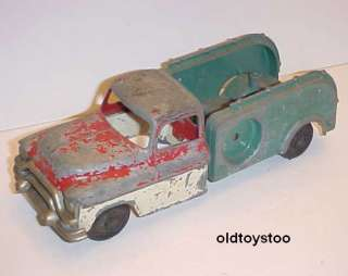 HUBBLEY KIDDIE TOY 494 TOW TRUCK DIECAST 1950