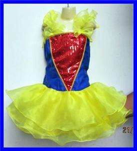 YEAR SZ 6 NEW SNOW WHITE GIRL PARTY NATIONAL GLITZ PAGEANT DRESS