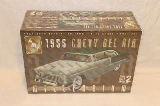 AMT 125 1955 Chevy Bel Air Millennium Model Kit Sealed 036881302667