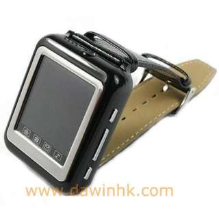 Triband Wrist Watch Cell Phone Mobile With Camera Bluetooth  white