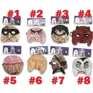 Plastic Scary Face Mask For Halloween #2 Toys & Games