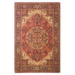 Safavieh CL763B Classic Navy Area Rug, Red