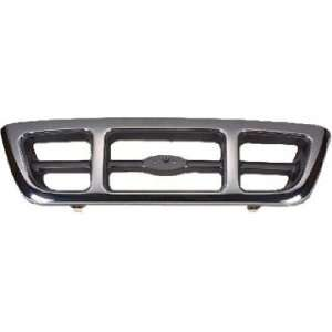 QP F053E a Ford Ranger Chrome Grille Automotive