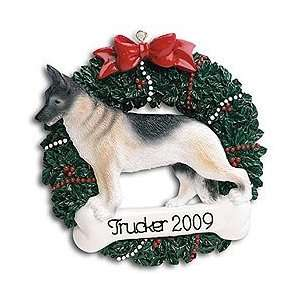 Personalized Dog Ornament German Shepherd