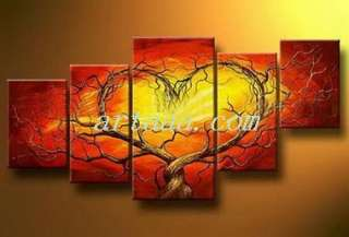 No rules) 4 screen modern abstract art oil painting