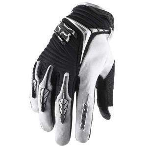 Fox Racing Blitz Gloves   Medium/Black/White Automotive