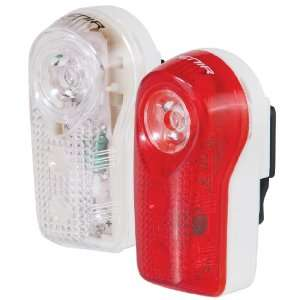 Avenir Panorama Half Watt Combo Set (White/Red, 1 and 1 LED)