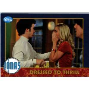 Jonas Brothers Trading Card #22 DRESSED TO THRILL