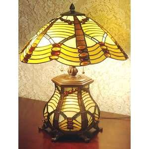 Tiffany Style Art Deco Table Lamp