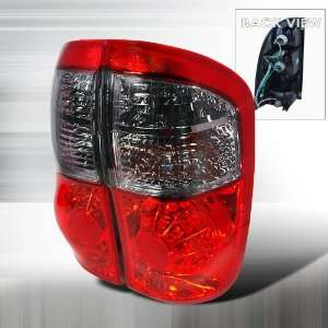 Toyota Toyota Tuntra Led Tail Lights /Lamps   Red Performance