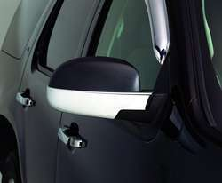 AVS VentShade 687665 Chrome Mirror Cover Lower Half