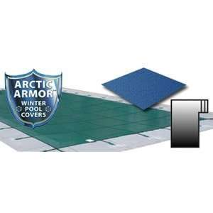 Arctic Armor 16 x 32 Ultra Light Solid Safety Cover w/ 4