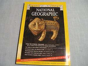 GEOGRAPHIC January 1974 GOLD Pine Barrens HMONG Newfoundland COMET