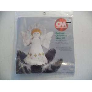 Cm Christmas Quilted Tree Top Angel Embroidery Kit Arts