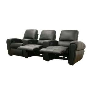 695 Baxton Studio Moondance Black Home Theater Seating