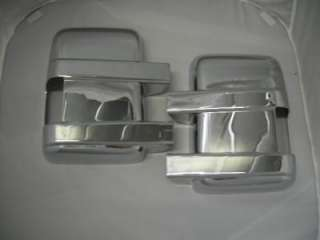 08 11 FORD F250 SUPER DUTY CHROME DOOR MIRROR TAILGATE