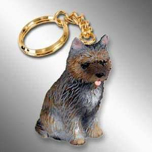 Cairn Terrier, Brindle Tiny Ones Dog Keychains (2 1/2 in