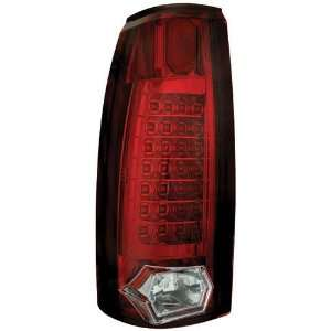 Cadillac Escalade 1990 2000 Tail Lamps, LED/Ruby Red 21