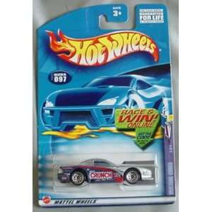 Hot Wheels 2002 Mustang Cobra Sweet Rides 3/4 #097 #97 SILVER Crunch 1
