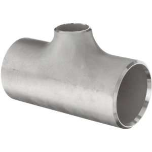 Stainless Steel 316/316L Butt Weld Pipe Fitting, Reducing Tee