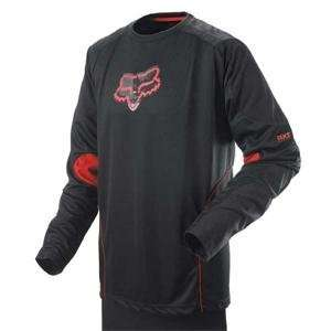 Fox Racing Access Jersey   X Large/Black/Red Automotive