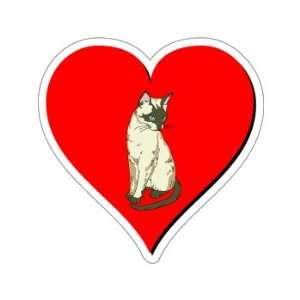 Cat Love   Window Bumper Sticker Automotive
