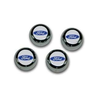 Ford ABS Chrome Snap Caps Automotive