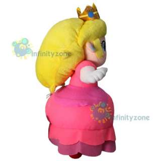 Nintendo Super Mario Bros 12 Princess Peach Plush Doll