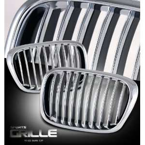 2003 5 Series   E39 Chrome/ Black Sport Grille Performance Automotive