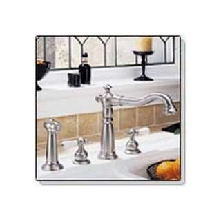 Delta 2256SS 212SS Victorian Two Handle Kitchen Faucet with Matching
