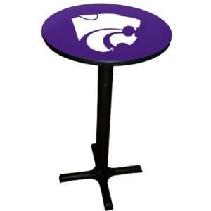 State Wildcats Pub Table with Black Commercial Base
