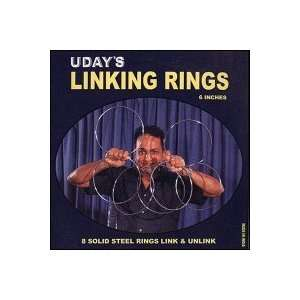 Linking Rings by Uday (6 inches) Toys & Games